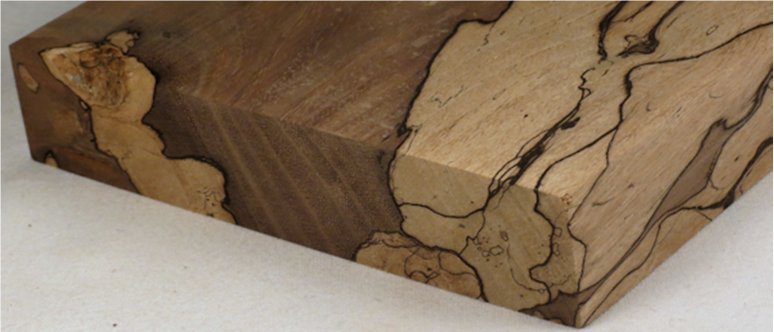 Edge Of Spalting Photos Of Spalting By Wood Species